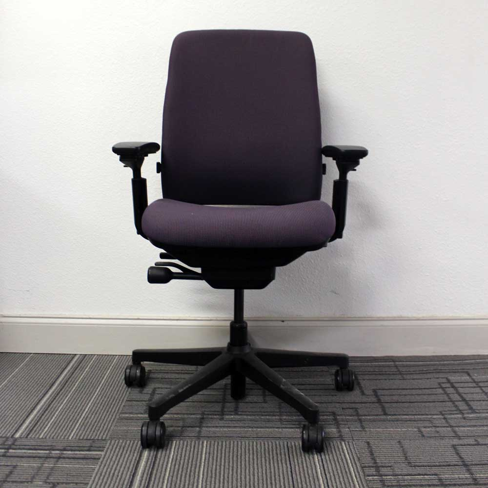 used steelcase amia task chair vision office interiors