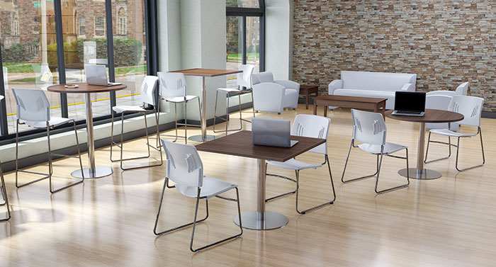 Bleecker Street Cafe Tables By Office Source Vision