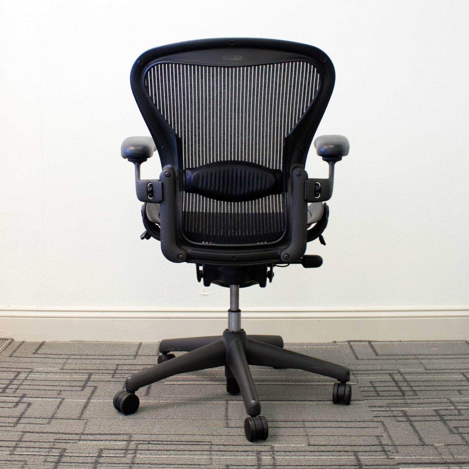 Used Herman Miller Aeron Chairs Size B Vision Office Interiors