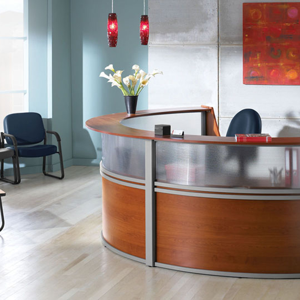 Marque Reception Unit By Ofm Vision Office Interiors