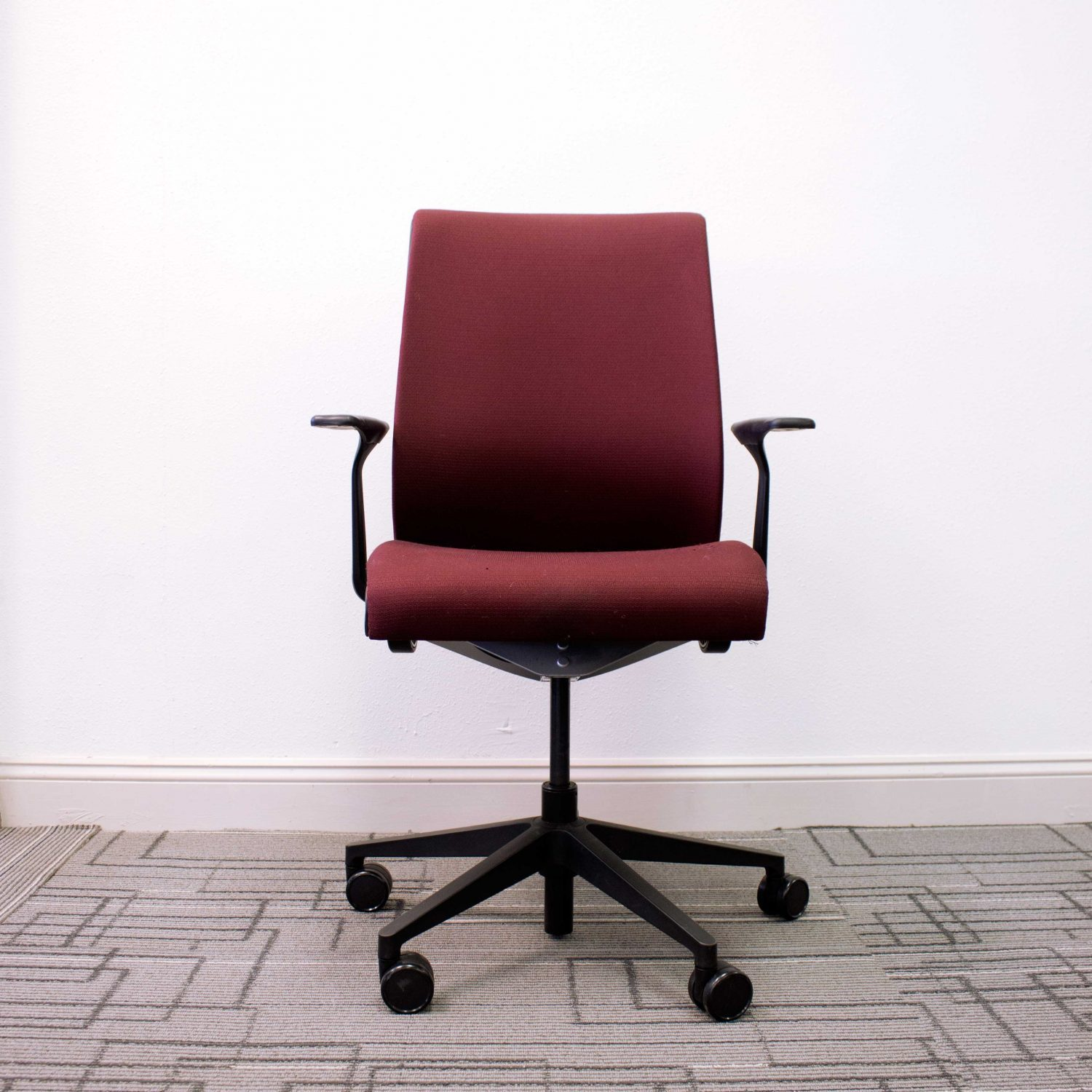 Steelcase Think Office Chair Reply Used Steelcase Think Chair Vision Office Interiors Used Steelcase Think Chair Red Vision Office Interiors