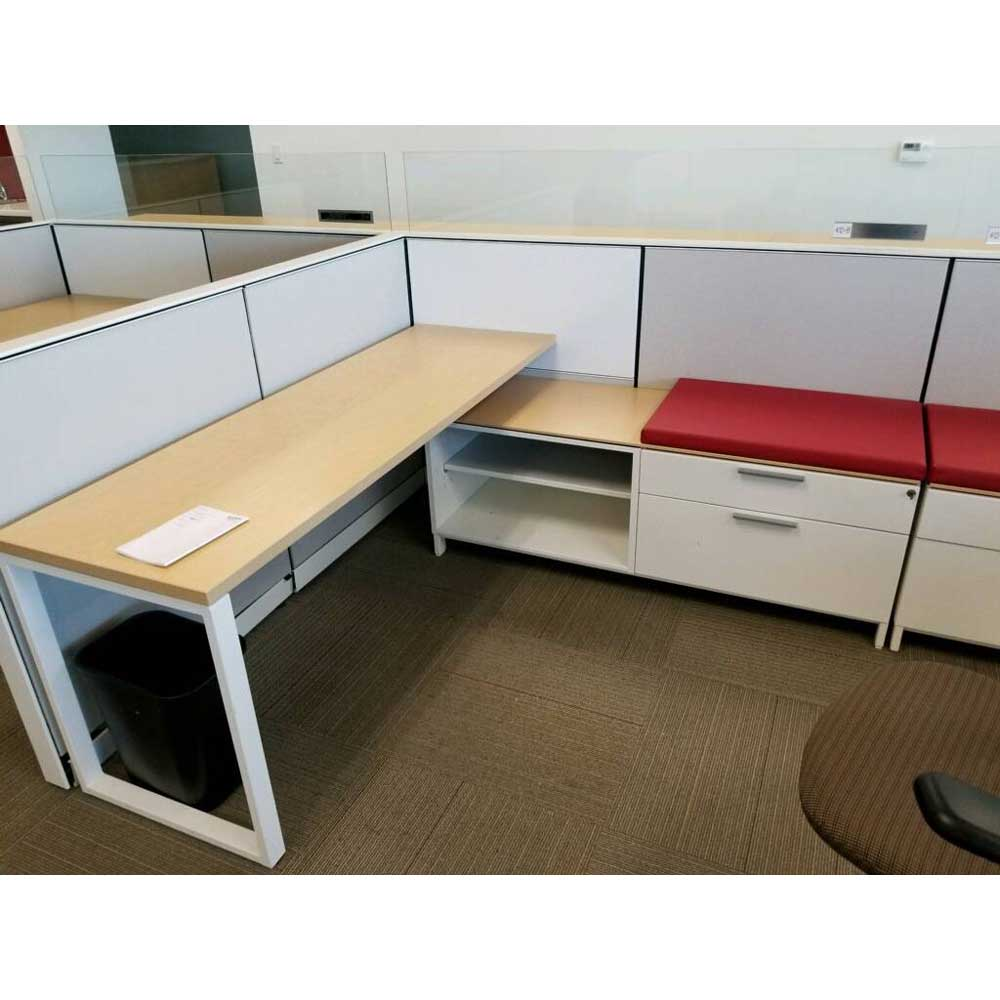 Used Herman Miller Canvas Cubicles Vision Office Interiors
